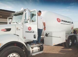 Pinnacle truck SHV